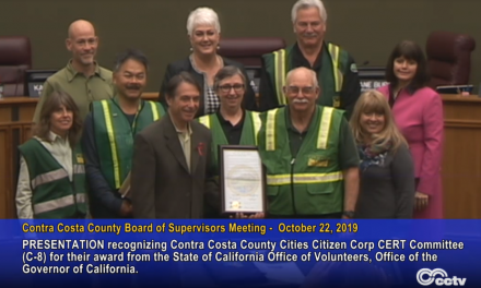 Recognizing the County-Wide CERT Programs