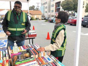 CERT volunteers Josie and Ivan