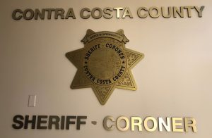 Contra Costa County Sheriff Corner with badge